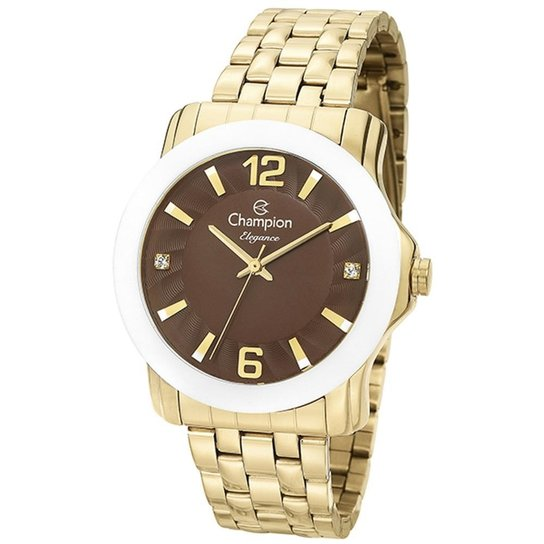 00755b63f3d Relógio Feminino Champion Elegance - Compre Agora
