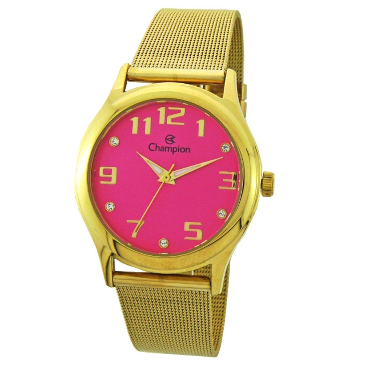 77a787ef510 Relógio Analógico Champion CN29007L Feminino
