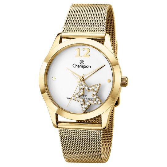 b2276e9d17b Relógio Champion Analógico CH25918H Feminino - Dourado - Compre ...