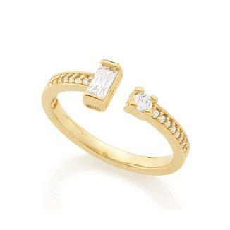 1d9155cf32f Anel Rommanel Skinny Ring Composto Por Zircônias