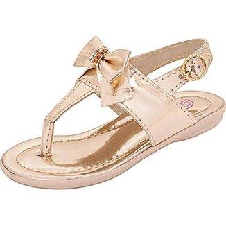 83c5f3df0 Sandálias Plis Calçados Infantis Bebê Menina Dourado - Calçados ...