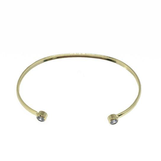 Pulseira Banho De Ouro Ponto De Luz Kumbayá Joias - Dourado - Compre ... aea61d22f6