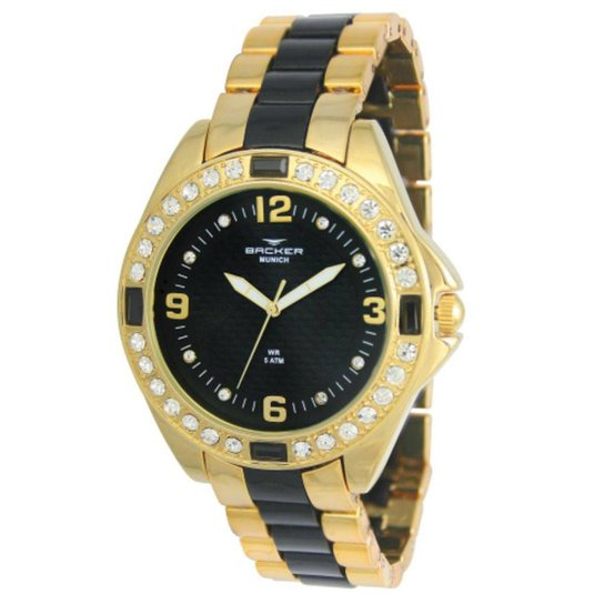 713c9594f50 Relógio Feminino Backer Munich 3968134F - Compre Agora