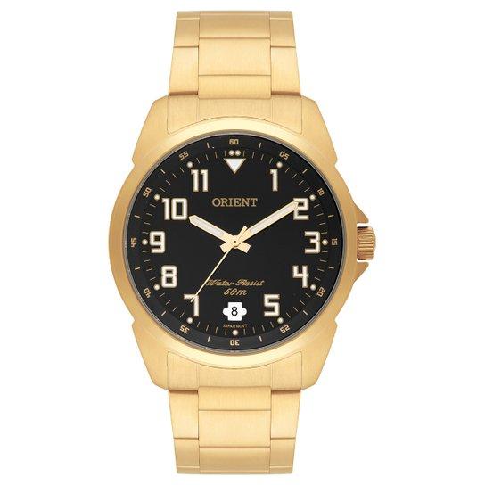 b7384377935 Relógio Orient Analógico MGSS1103A-P2KX Masculino - Dourado - Compre ...