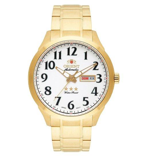 142fe2860d0 Relógio Orient 3 Estrelas Automático 469Gp074 S2Kx - Compre Agora ...