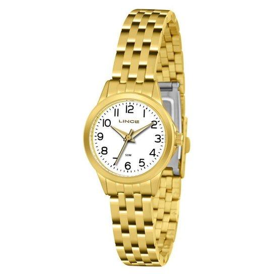 e8adf711246 Relógio Lince Feminino - LRG4433L B2KX - Dourado - Compre Agora ...