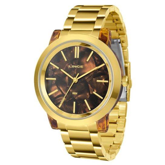 2adffa21c9b Relógio Lince Feminino - LRT612P M1KX - Dourado - Compre Agora