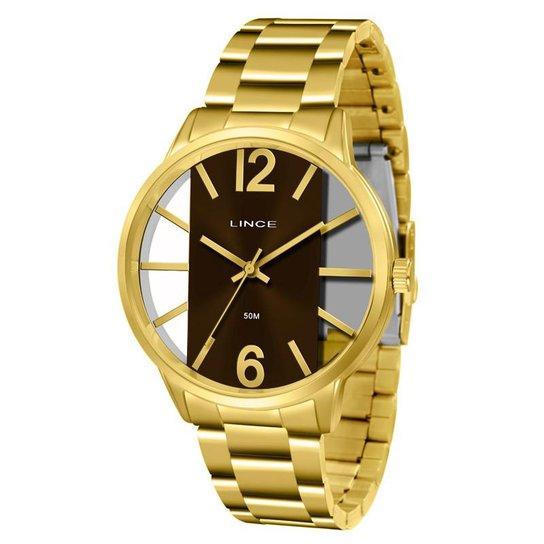 3adf2ab5b91 Relógio Lince Feminino - Dourado - Compre Agora