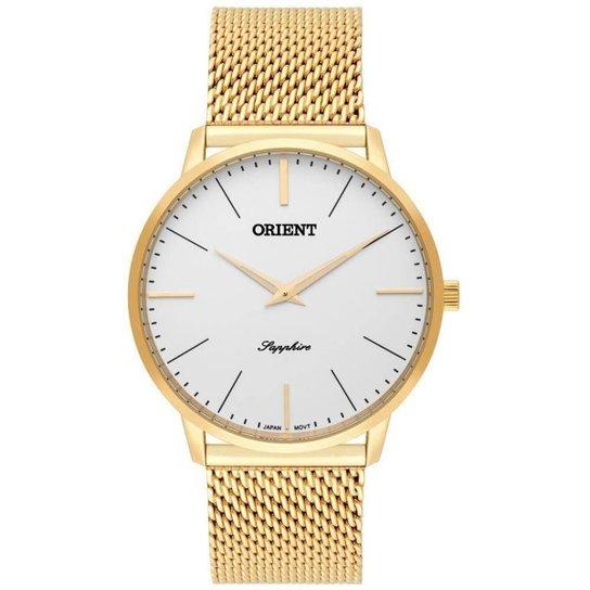 b880018aeba Relógio Orient MGSSS005 S1KX Masculino - Dourado - Compre Agora ...