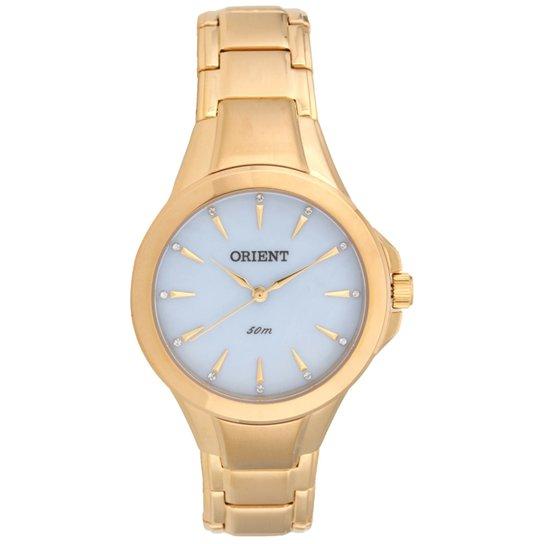 2e8e21e5937 Relógio Feminino Orient Analógico Fgss0084-A1kx - Dourado - Compre ...