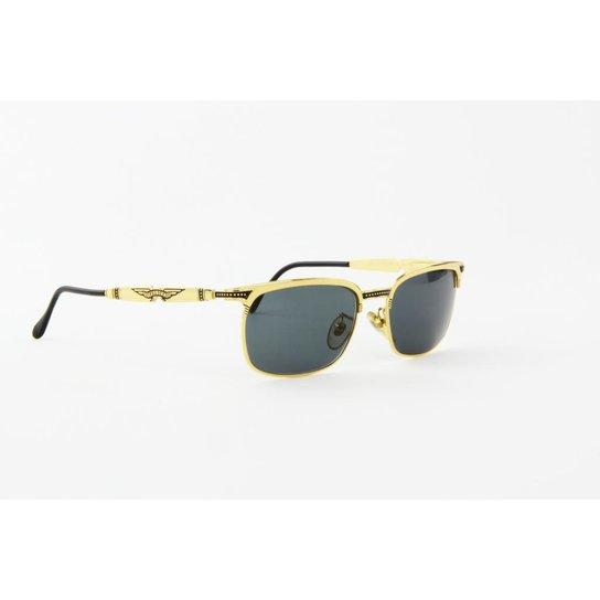 1e4081998 Óculos de Sol Police em Metal Lente - Dourado
