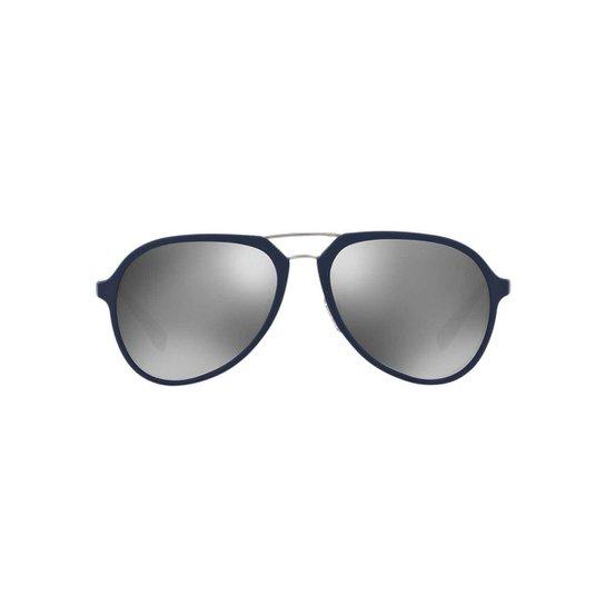 Óculos de Sol Prada Linea Rossa Piloto PS 05RS Masculino - Compre ... b1cd2a4241