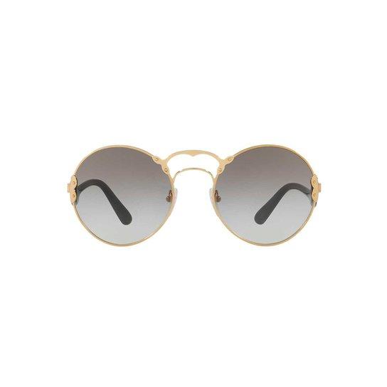 f3629b54c78a8 Óculos de Sol Prada Redondo PR 55TS Feminino - Compre Agora   Zattini