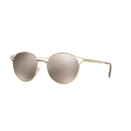 223c486c4 Óculos de Sol Prada PR 62SS Cinema - Dourado | Zattini