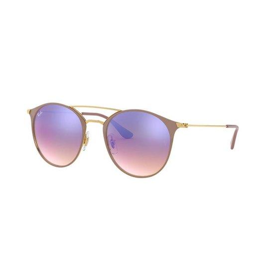 94a8d2c1afbd8 Óculos de Sol Ray-Ban RB3546 - Dourado - Compre Agora