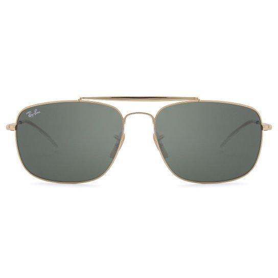 Óculos de Sol Ray-Ban The Colonel RB3560 -001 3F 61 - Dourado ... 11729288ec