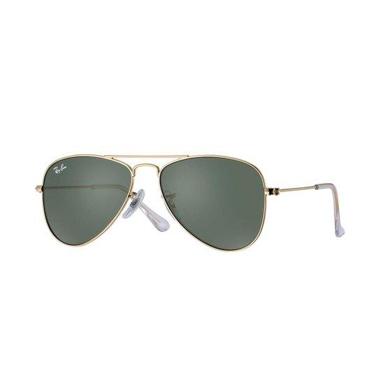 Óculos de Sol Ray-Ban Aviator Junior - Dourado - Compre Agora   Zattini 3f57c90950