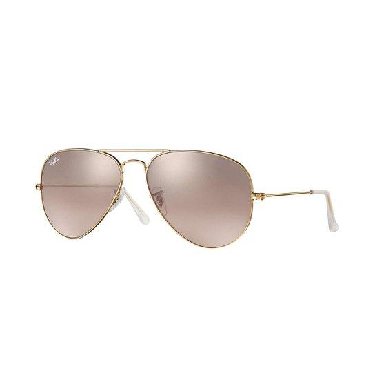 5dea7519e Óculos de Sol Ray-Ban Aviator Gradiente - Dourado | Zattini