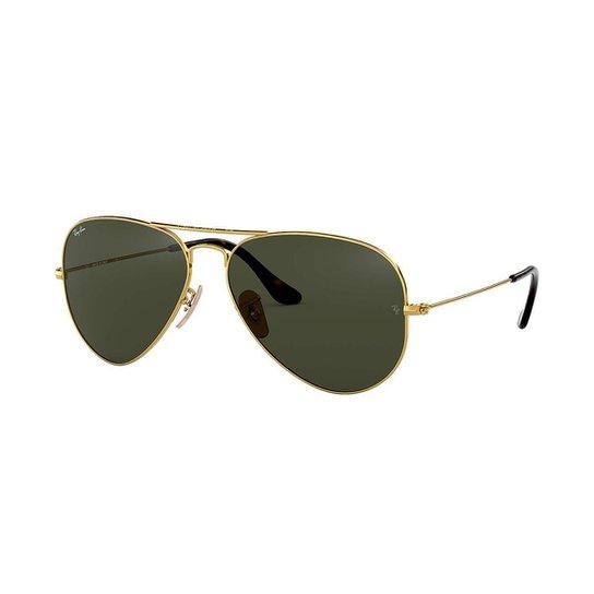 c8af65d76e58d Óculos de Sol Ray-Ban Aviador - Dourado - Compre Agora   Zattini