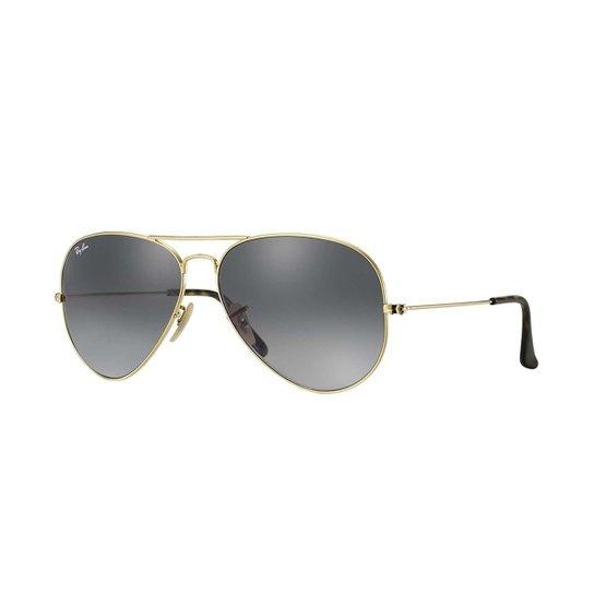 Óculos de Sol Ray-Ban Aviator Feminino - Dourado - Compre Agora ... a754c37c2c