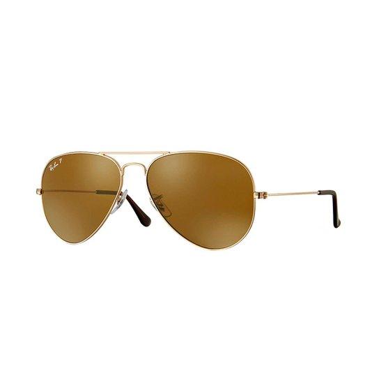 Óculos de Sol Ray-Ban Aviator Rb3025 Feminino - Compre Agora   Zattini 84349d324f