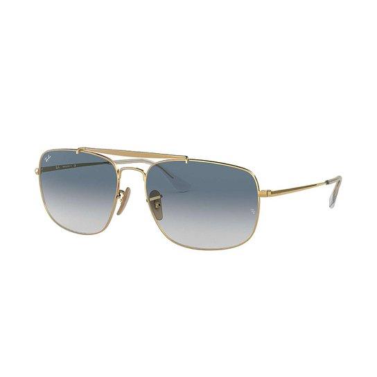 Óculos de Sol Ray-Ban RB3560 Feminino - Dourado - Compre Agora   Zattini 6345d9ae6a