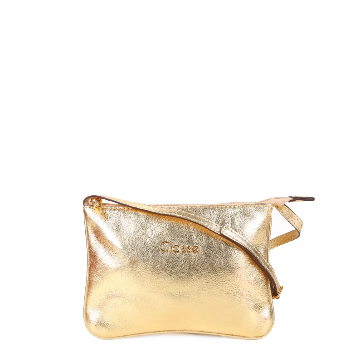 Bolsa Couro Classe Couro Mini Bag Tiracolo Pelo Feminina