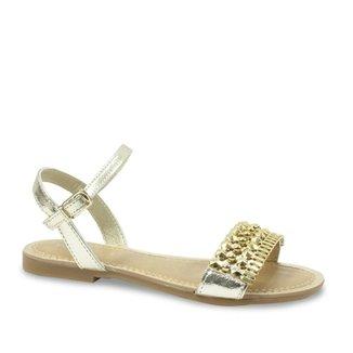 ea729d23ce Sandálias Pampili Menina Dourado - Calçados