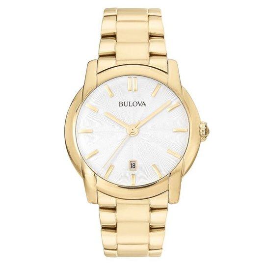 9e73e2531e5 Relógio Bulova WB21481H Masculino - Dourado - Compre Agora