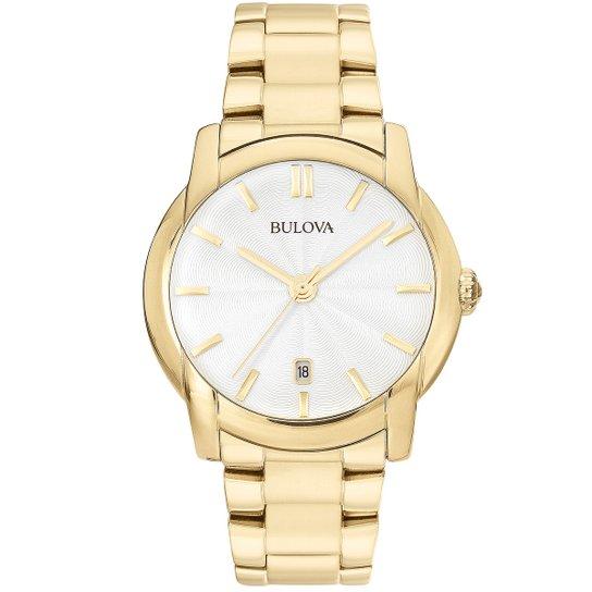 b5fba7d303a Relógio Bulova Analógico WB21481H Feminino - Compre Agora