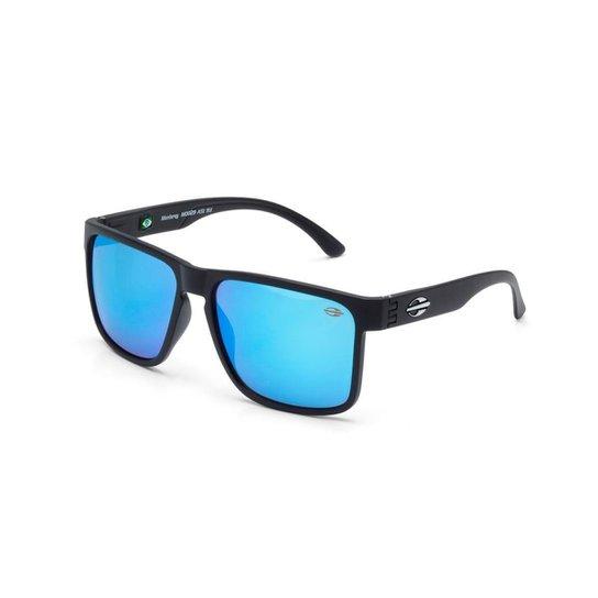 Oculos Sol Mormaii Monterey - Preto e Azul claro - Compre Agora ... 86e9972cc0