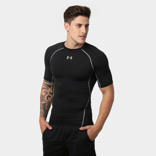Camiseta de Compressão Under Armour Heatgear Masculina - Compre ... 15c1d6a9a1bb3