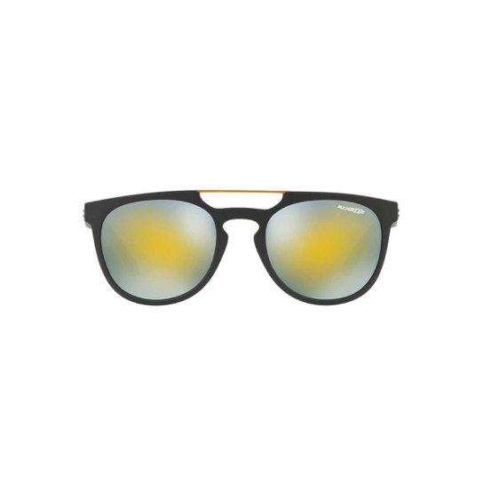 Óculos de Sol Arnette Retangular DG2164 Masculino - Preto e Cinza ... 62286cb7e8