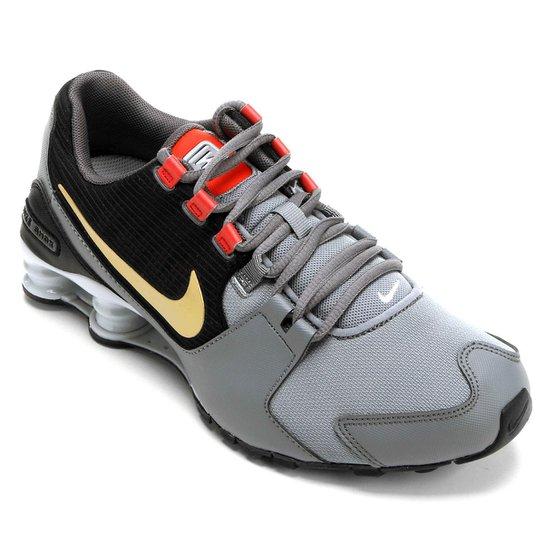 88ddd4745e Tênis Nike Shox Avenue Masculino - Preto e Cinza - Compre Agora ...