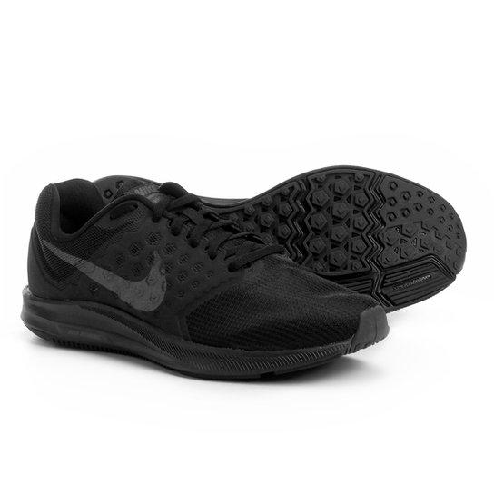 f43df4fd10 Tênis Nike Downshifter 7 Feminino - Preto e Cinza