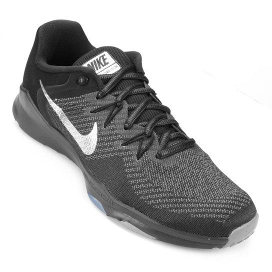 Tênis Nike Zoom Condition TR 2 PRM Feminino - Preto e Cinza - Compre ... fdadb202bdbf0