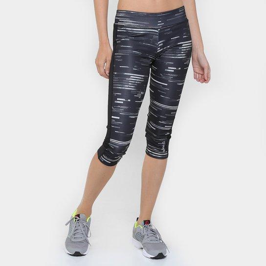 Calça Capri Reebok Workout Ready Printed Feminina - Compre Agora ... b2607ba4e8661