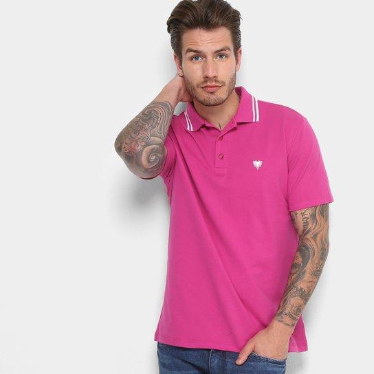 Camisa Polo Cavalera Piquet Frisos Masculina - Bordô - Compre Agora ... 6d190c69c3097