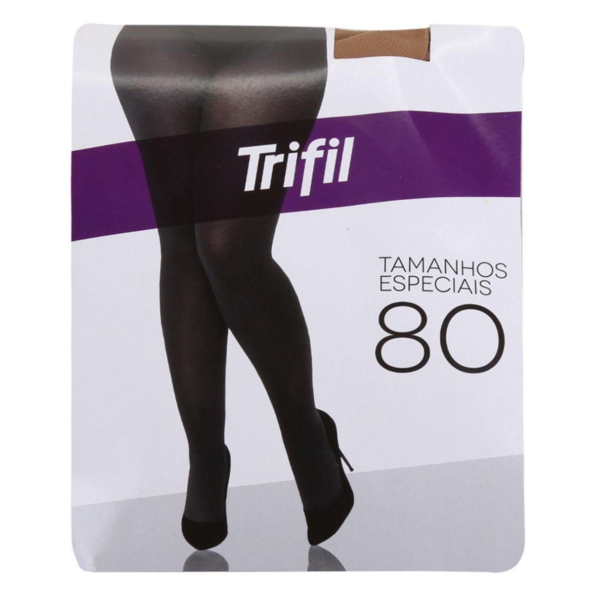Meia Calça Trifil Plus Size Opaca Fio 80 Feminina