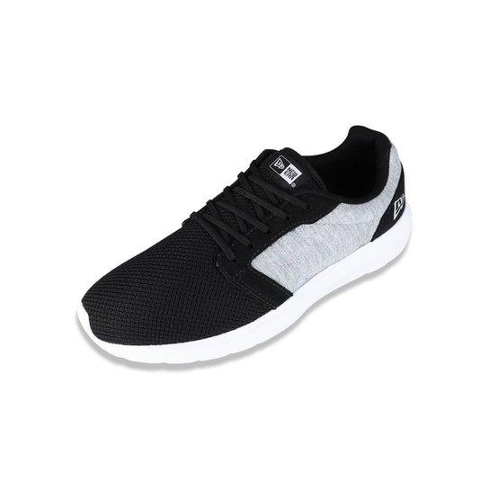 0d74106e78 Tênis New Era Sneaker Branded Masculino - Preto e Cinza - Compre ...