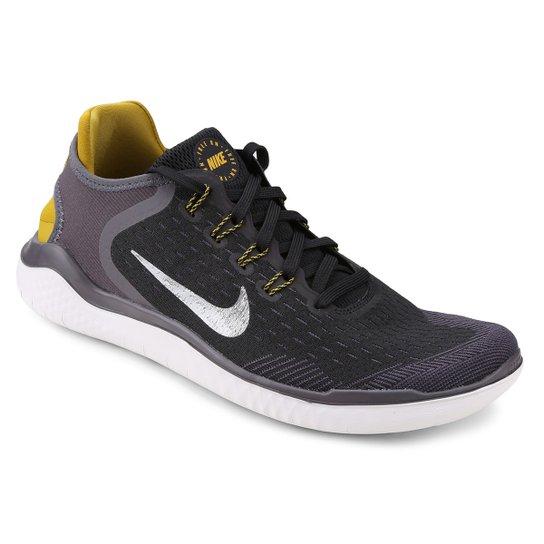 2d89a0828662a Tênis Nike Free Rn 2018 Masculino - Preto e Cinza - Compre Agora ...