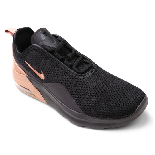 cd01fcd1d65 Tênis Nike Wmns Air Max Motion Feminino - Preto e Cinza - Compre ...