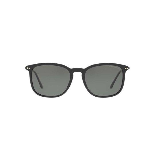 a29872d374c40 Óculos de Sol Giorgio Armani Quadrado AR8098 Masculino - Preto e ...