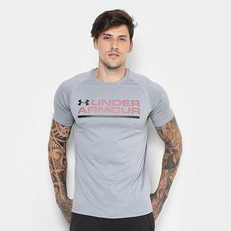 d9c3950e187 Camiseta Under Armour Wordmark Lock Up Masculina