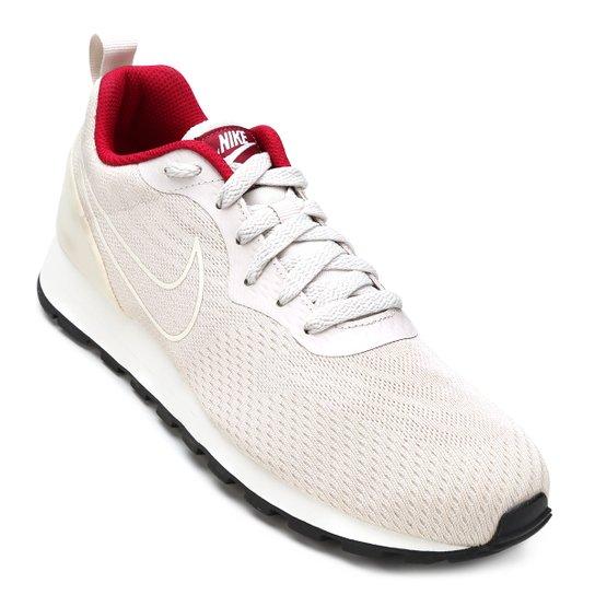 Tênis Nike Md Runner 2 Eng Mesh Feminino - Gelo e Vermelho - Compre ... 572960129a1c0