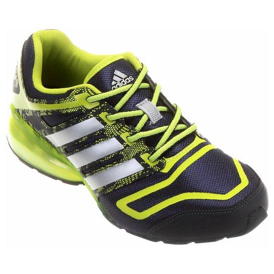 322afb88a6 Tênis Adidas Cosmic Q Masculino - Marinho+Verde Limão