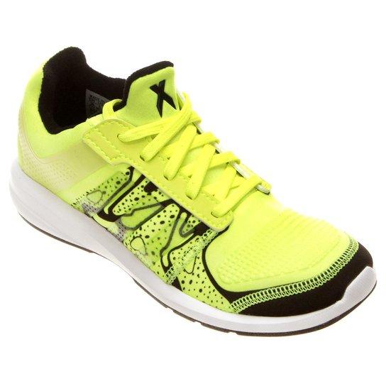 c9f2250e0e1 Tênis Adidas Fb C Flex X K Infantil - Verde Limão+Preto