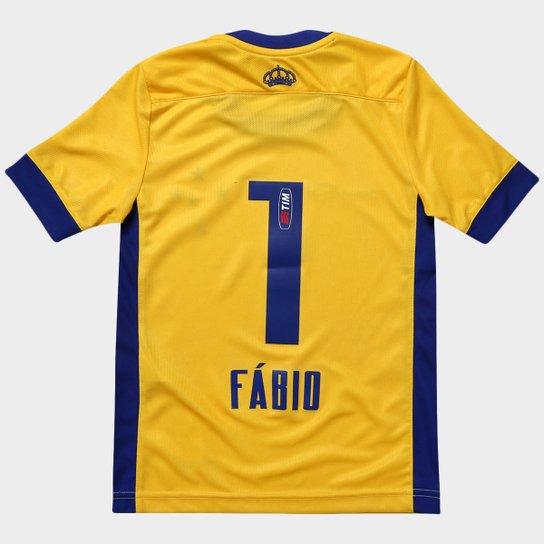 3755e967c43ea Camisa Penalty Cruzeiro Goleiro I 2015 nº 1 Juvenil - Compre Agora ...
