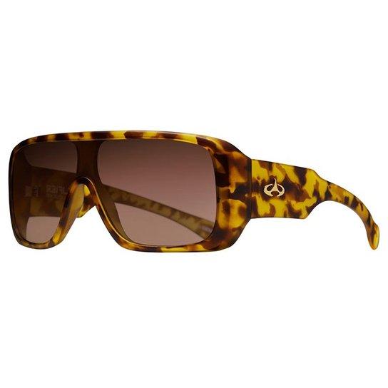 199f2415f Óculos de Sol Evoke Amplifier Blonde Turtle Fumê - Amarelo+Preto