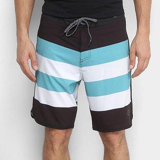 Boardshort Lost Stripes Masculino 7c432692d9f